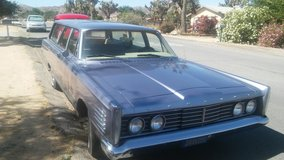 commuter station wagon in 29 Palms, California