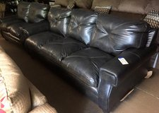 BRAND NEW Leather Couch and Love Seat in Camp Lejeune, North Carolina