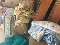 Baby crib bed sheets and bumpers in Ramstein, Germany