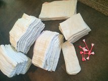 Cloth diaper pre folds (unbleached) in Beaufort, South Carolina