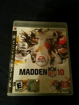 Madden 10 for PS3 in Camp Lejeune, North Carolina