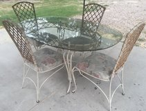Table and chairs in Conroe, Texas