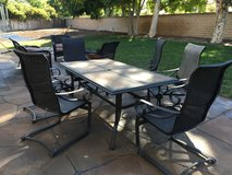 PATIO TABLE & SIX CHAIRS - OCEANSIDE in Temecula, California