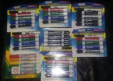 8 packages of dry erase expo markers in Alamogordo, New Mexico