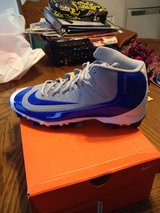 mens nike baseball cleats ( new) sz.11  ( blue) in Fort Campbell, Kentucky