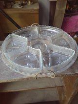Glass lazy susan in Alamogordo, New Mexico