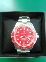 FREE S & H! SPECIAL EDITION RED ROLEX SUBMARINER in Yuma, Arizona