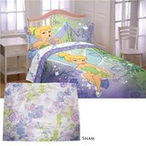 Tinkerbell Twin  Bedding Comforter/Sheet Set x2 in Chicago, Illinois