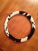 Cow Steering Wheel Cover in Bolingbrook, Illinois