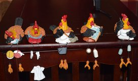 Shelf Roosters in Vacaville, California