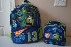 Monster Univsersity Backpack/Lunch Box in Chicago, Illinois