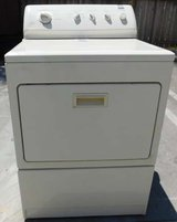 DRYER- KENMORE ELITE KING SIZE CAPACITY GAS- BISQUE WITH WARRANTY in San Diego, California