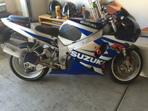2002 GSXR-750 in Miramar, California