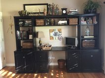 Pottery Barn home office built ins in Naperville, Illinois