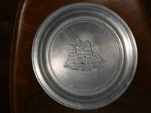 "wilton pewter tall ship plate 11"" in Naperville, Illinois"