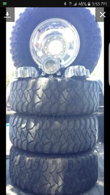 Offroad tires and rims in Fort Bliss, Texas