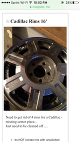 Cadilac Rims in Lawton, Oklahoma