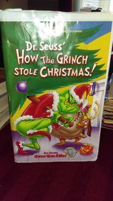 How The Grinch Stole Christmas - Vhs in Lawton, Oklahoma