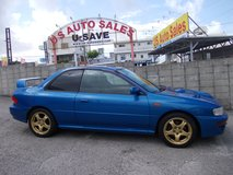 1998 SUBARU IMPREZA WRX COUPE TYPE R LIMITED EDITION # 28 OF 1,000 MADE in Okinawa, Japan