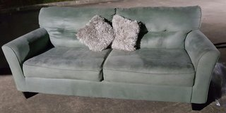 Green Olive sofa in Spring, Texas