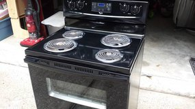 Whirlpool Stove Black in Spring, Texas