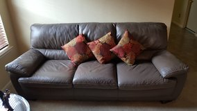 Leather brown Sofa in Spring, Texas