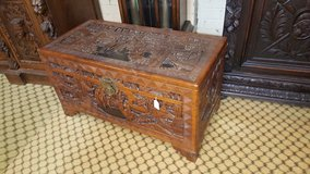 Highly Carved Camphor Wood Trunk others available, free delivery in Lakenheath, UK