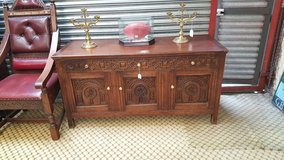Carved Oak Sideboard free delivery others available in Lakenheath, UK