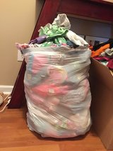 Huge trash bag stuffed full of GIRLS 4-6 size clothes,shoes, dresses,bathing suits...... GREAT D... in Camp Lejeune, North Carolina