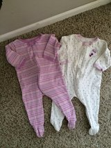 Infant Girls Sleepers-9 months-First Moments-Like New!!! in Chicago, Illinois