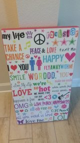 Teen Text-Pink Wall Decor in Tampa, Florida