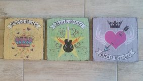 Teen Set of 3 Canvas Wall Decor in Tampa, Florida