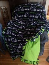 SEAHAWKS Fleece Blanket in Tacoma, Washington