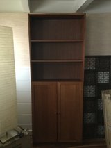 "Book Case Tall with shelves and cabinet  12""D x 31.5""W x 80""H in Honolulu, Hawaii"