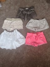 Lot 4 shorts ,1skirt Hollister in Baytown, Texas