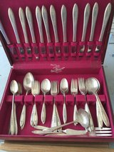 Old m. A. Rogers silverware in Travis AFB, California