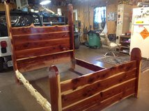 Cedar Queen Bed in Fort Leonard Wood, Missouri