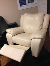 Leather recliner/swivel chair in Aurora, Illinois