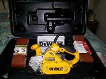 Dewalt DW433K Belt Sander in Beaufort, South Carolina
