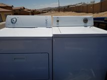 Washer and Electric dryer in Barstow, California