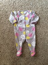 Infant Sleeper-Girls-Carters 6-9 month-Like New!! in Chicago, Illinois