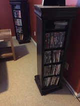 2 Wooden Swivel DVD Towers!!! in Elizabethtown, Kentucky