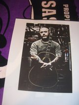 Autographed Aaron Lewis Poster in Fort Riley, Kansas