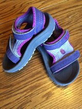 Girls Toddler Teva Sandals-Size 4/5-VGUC in Chicago, Illinois