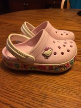 Girls Crocs-Toddler Size 4/5-Hello Kitty-GUC in Chicago, Illinois