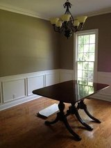 Drop Leaf Dining Room Table and Six Chairs in Macon, Georgia