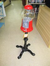 Vintage Metal Gumball Machine w/ Stand (894-1796) in Camp Lejeune, North Carolina