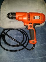 Black & Decker DR260 3/8 Inch Corded Drill in Beaufort, South Carolina