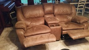 Reclining sofa and loveseat in Fort Polk, Louisiana