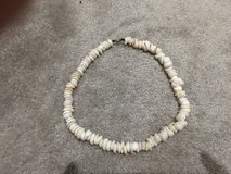 """LARGE ANTIQUE VINTAGE HAWAIIAN PUKA SHELL NECKLACE 20"""" ALL NATURAL 114.65 GRAMS HEAVY in Okinawa, Japan"""
